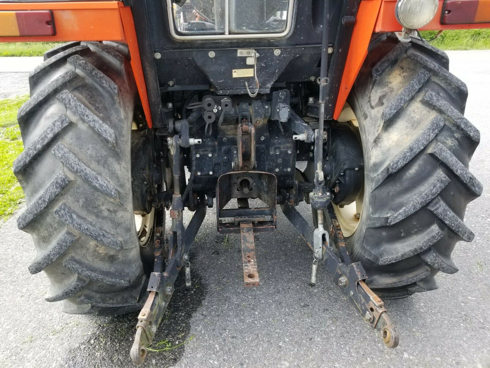 1995 Zetor 4340 tractor loader cab 59HP diesel 4×4 used farm utility